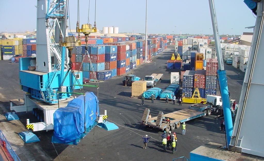 Nigéria: Affluence au port de Lagos