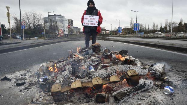 Grève générale en Belgique