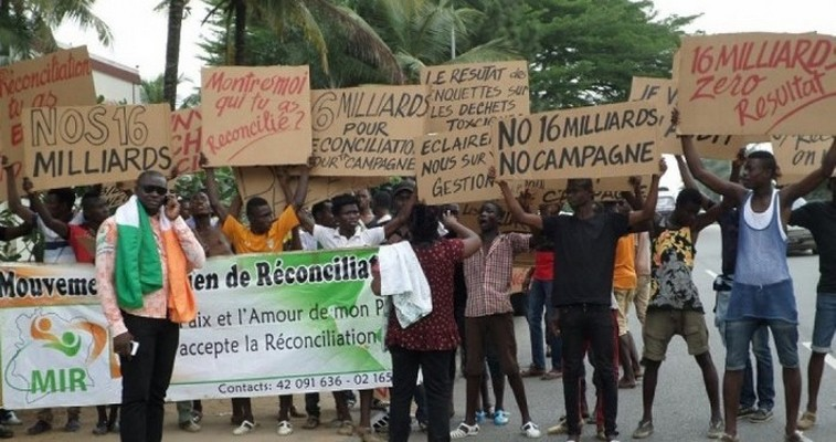Côte d'Ivoire: Des jeunes réclament des comptes à Charles Konan Banny