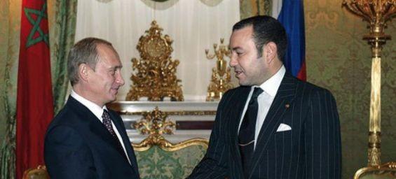 Le Roi Mohammed VI est en Russie