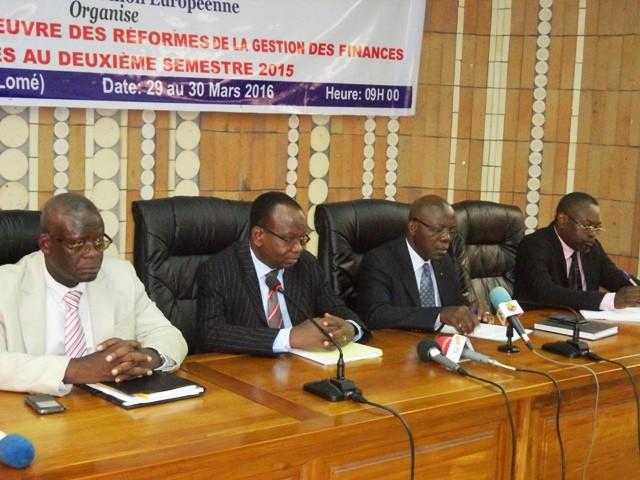Le Togo fait la revue de ses finances publiques