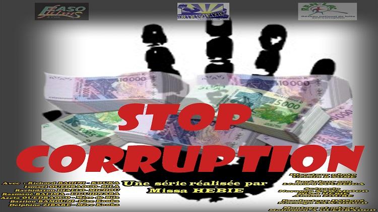 Début de la série TV «Stop corruption» au Burkina Faso