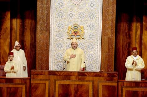 Discours du roi Mohammed VI  à l'ouverture de la session parlementaire d'automne