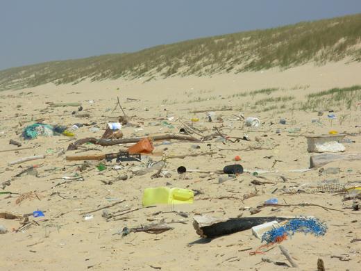 Maroc : La méditerranée victime des déchets solides