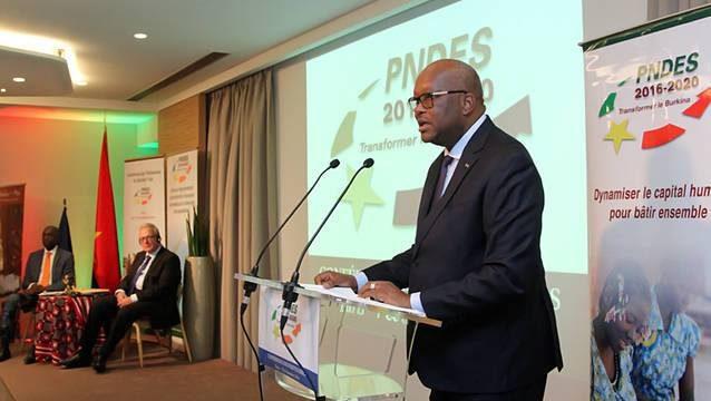 Le Burkina Faso mobilise 28 milliards d'euros mobilisés pour le développement économique
