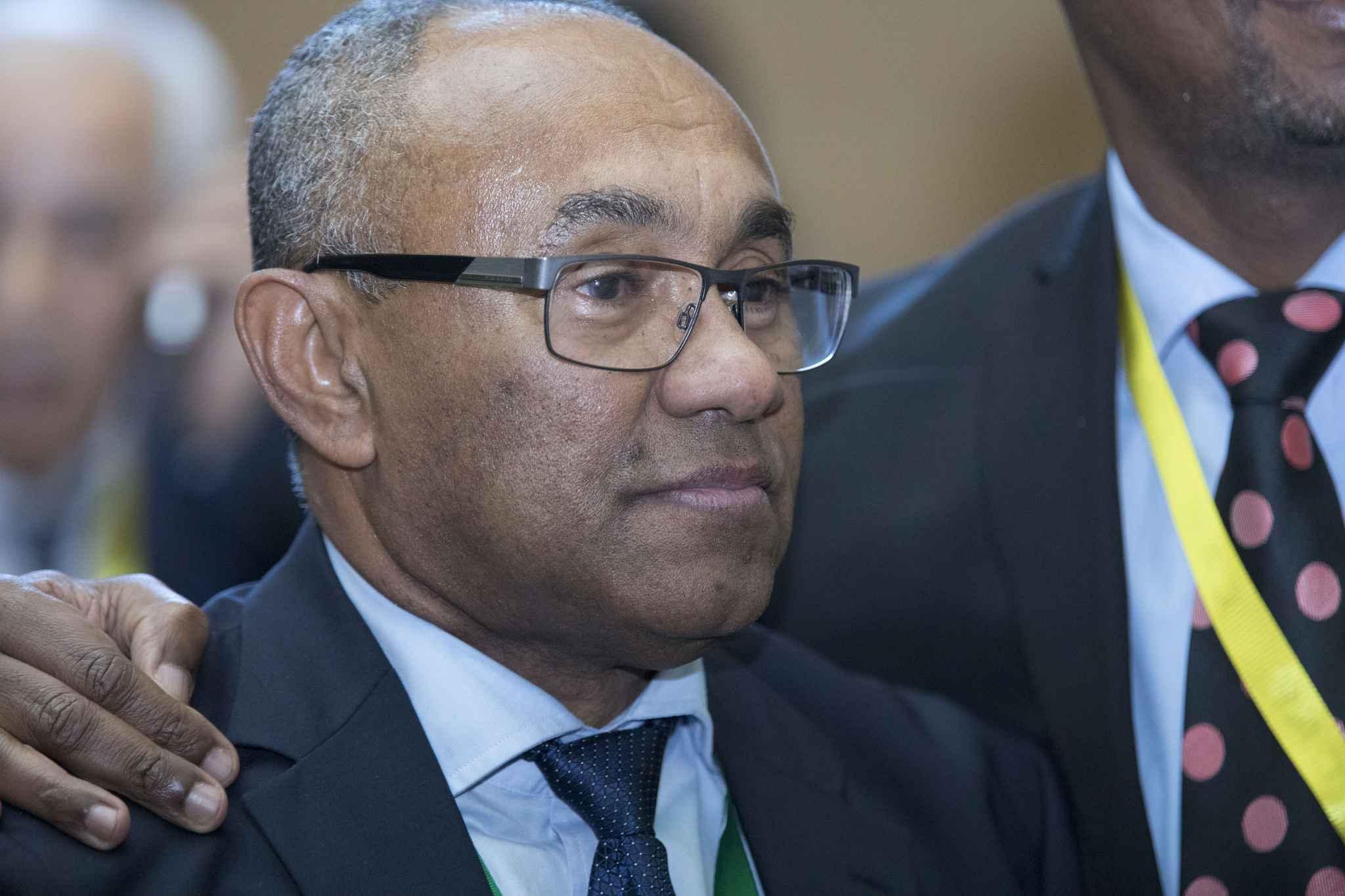 Ahmad Ahmad, nouveau président de la CAF