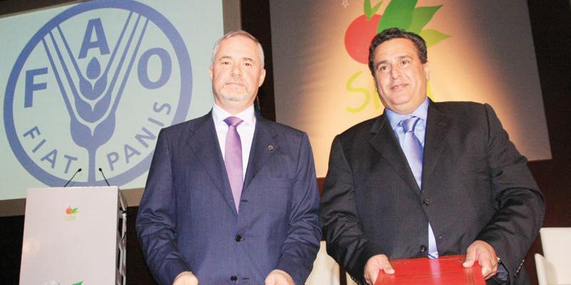La FAO fait don au Maroc de 37 millions $