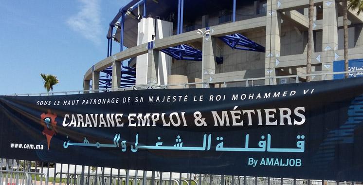 Maroc: Démarrage à Casablanca de la Caravane Emploi et Métiers