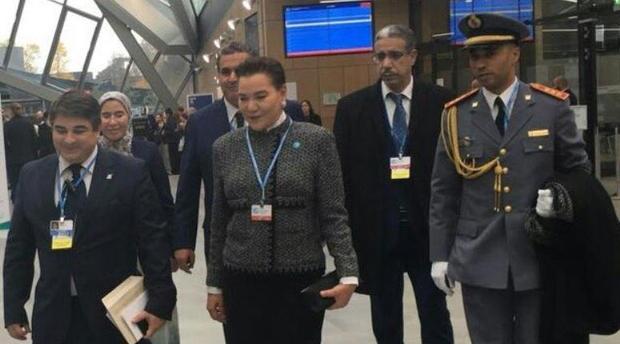 Le Roi Mohammed VI représenté par Lalla Hasnaa à la COP23 à Bonn
