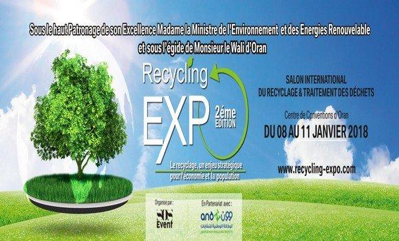 Algérie: Le 2ème Salon international de recyclage et traitement des déchets bat son plein