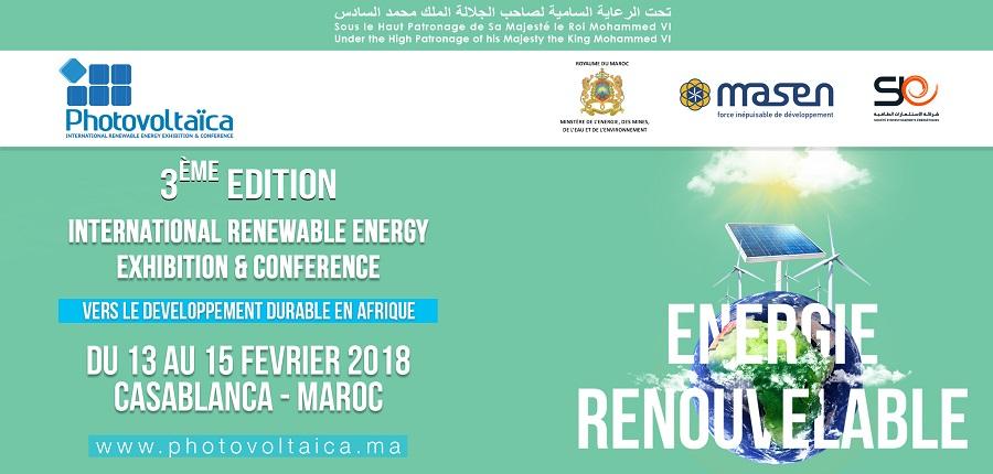 """Maroc: De la """"Photovoltaïca"""" à la """"PhotovoltAfrica"""""""