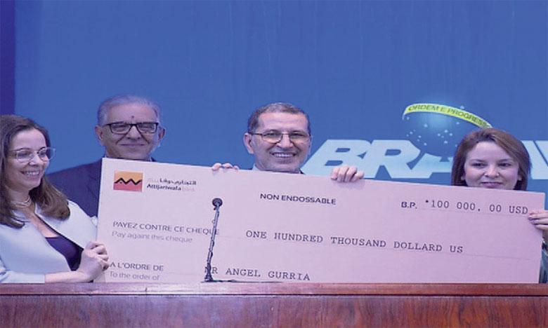 Le Grand Prix Mondial Hassan II pour l'Eau attribué à l'OCDE