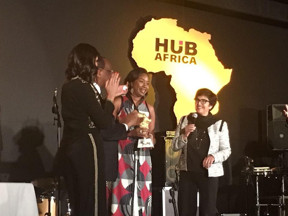 Seynabou  Dia, distinguée «femme entrepreneur de l'année» de Hub Africa Award