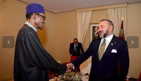 Maroc- Nigeria: Entretiens à Rabat entre le roi Mohammed VI et le président Buhari