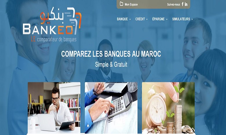 Maroc: «Bankeo.ma», le comparateur de banque