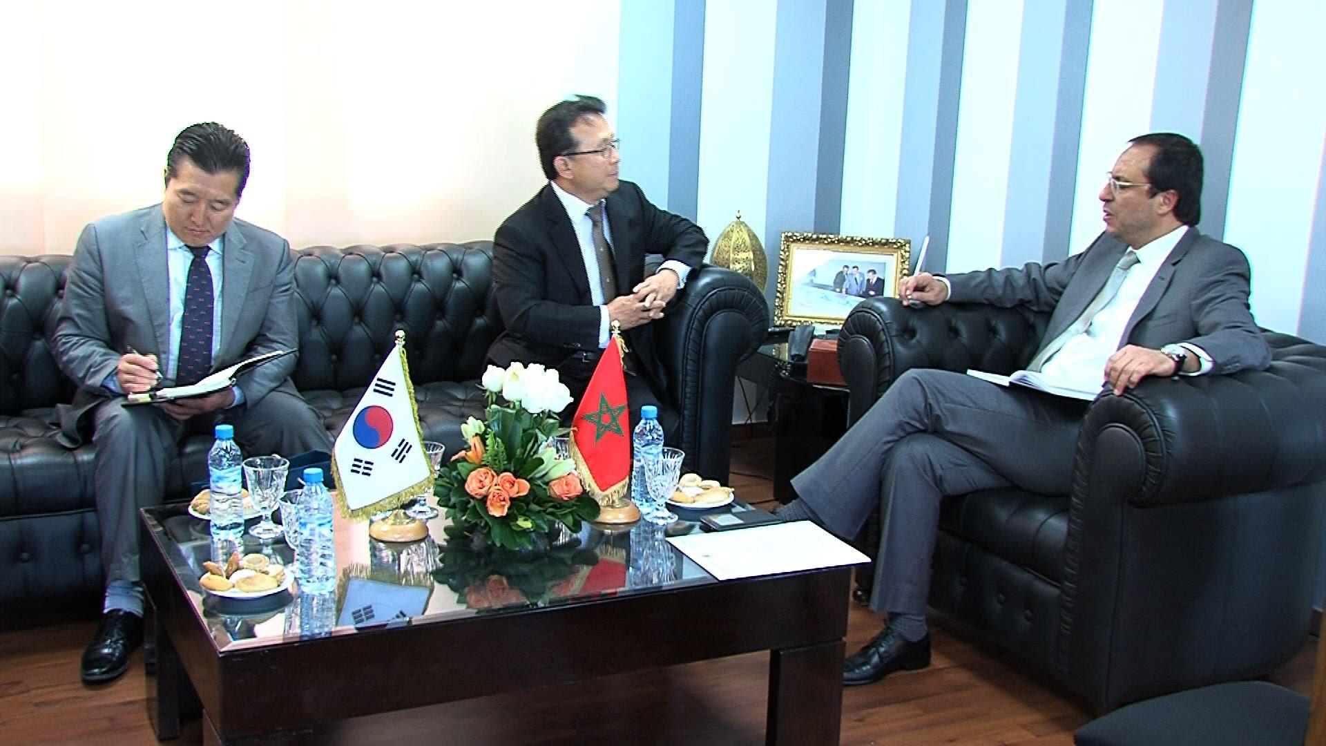 Le Maroc et la Corée du Sud consolidation leur coopération économique