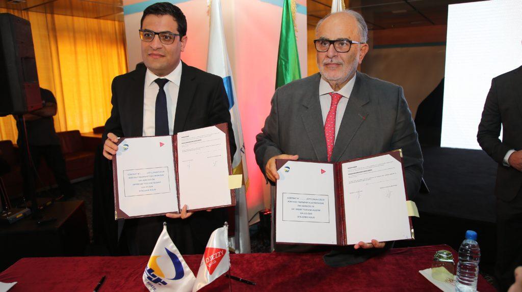 Djezzy et Algérie Poste collaborent sur plusieurs services digitaux en commun