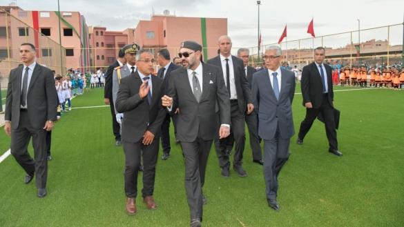 Maroc: Le Roi Mohammed VI confirme son intérêt pour les jeunes en inaugurant plusieurs infrastructures sportives