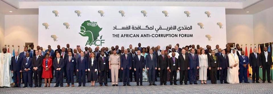 Al-Sissi évoque les mérites de l'Egypte au Forum africain de lutte contre la corruption