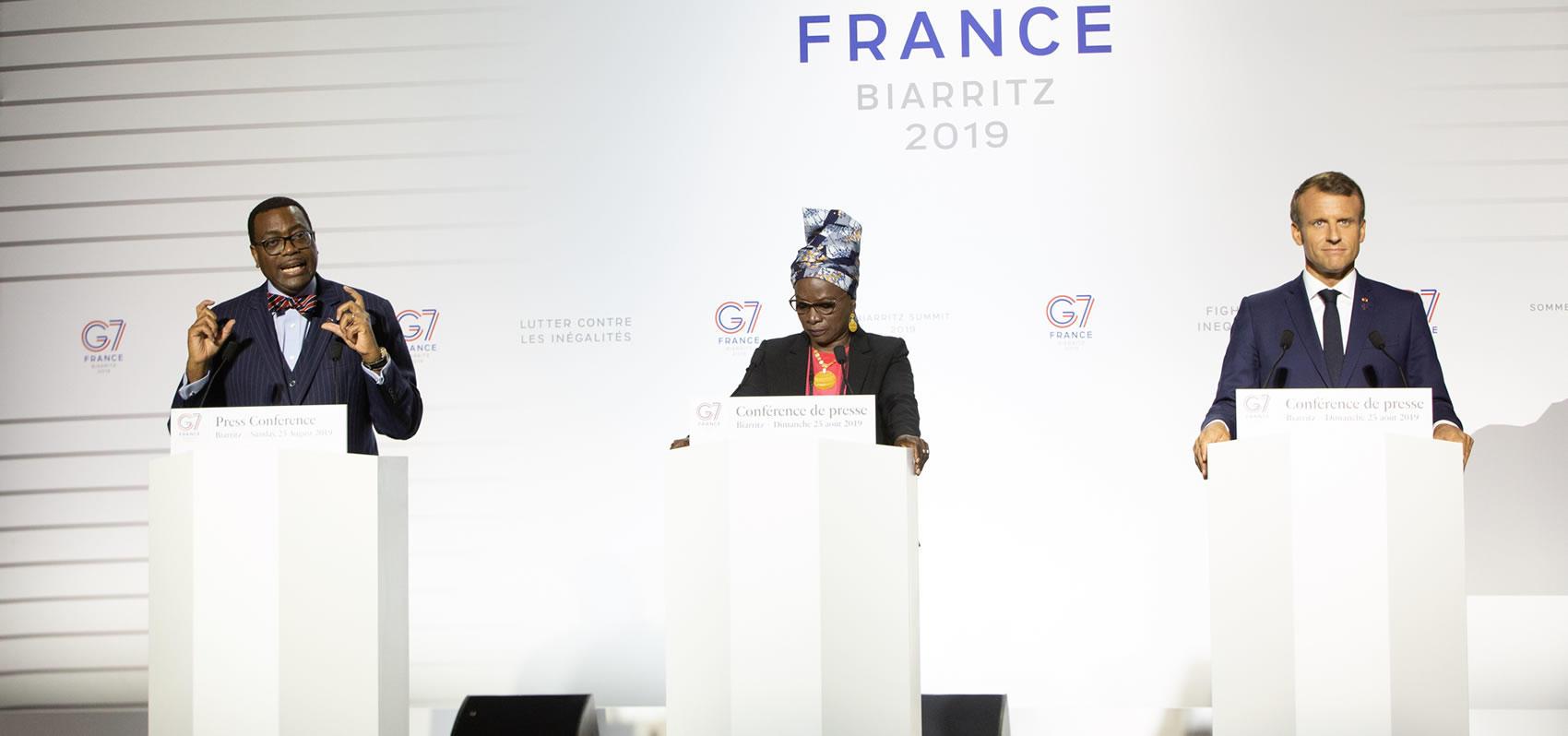 Le G7 prête 251 millions $ à la BAD pour soutenir l'entreprenariat féminin en Afrique