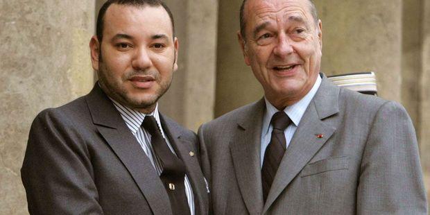 Décès du président Chirac: le Roi du Maroc déplore la perte d'un grand ami