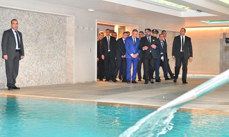 Le Roi du Maroc inaugure le «Complexe Mohammed VI de Football»