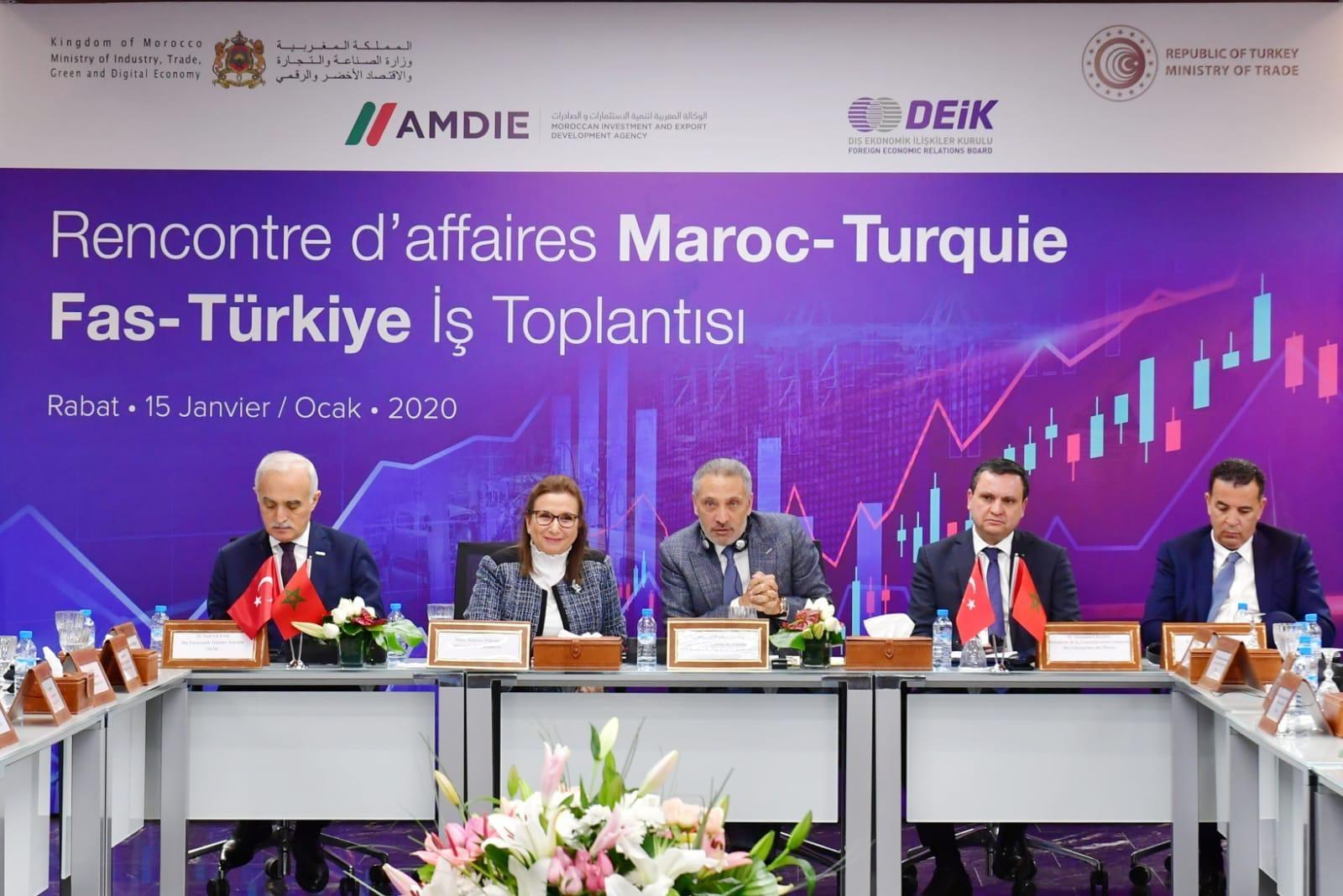 Le Maroc et la Turquie révisent leur accord de libre-échange
