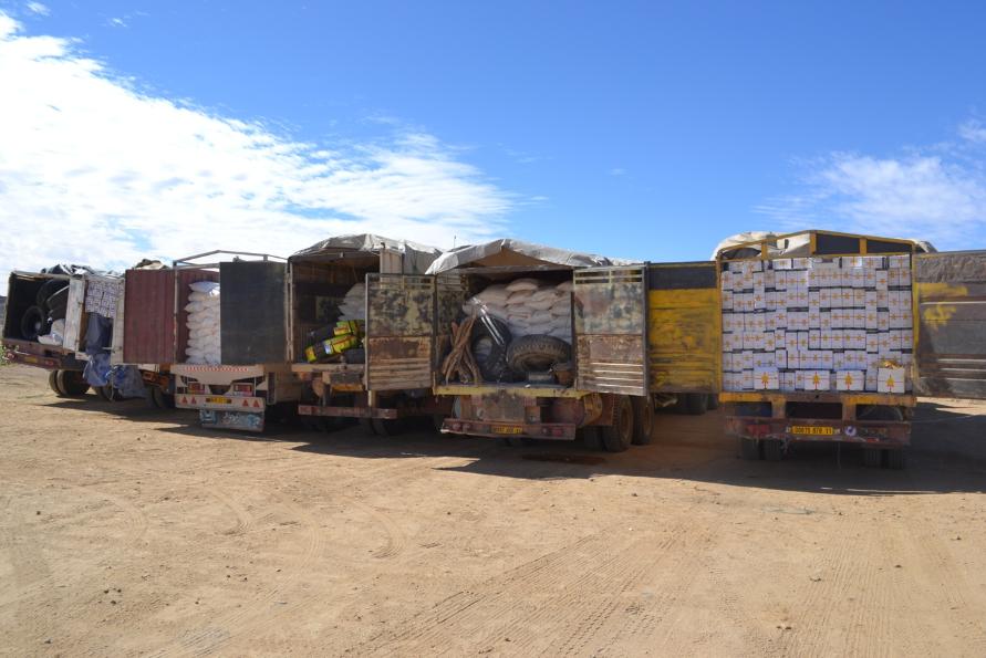 L'Algérierévise la réglementation de ses exportations vers le Mali, la Mauritanie et le Niger