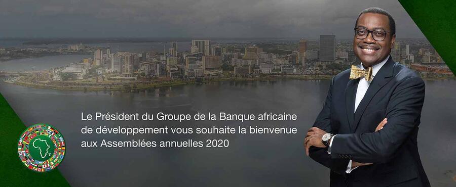 Les Assemblées annuelles 2020 de la BAD s'ouvrent ce mercredi
