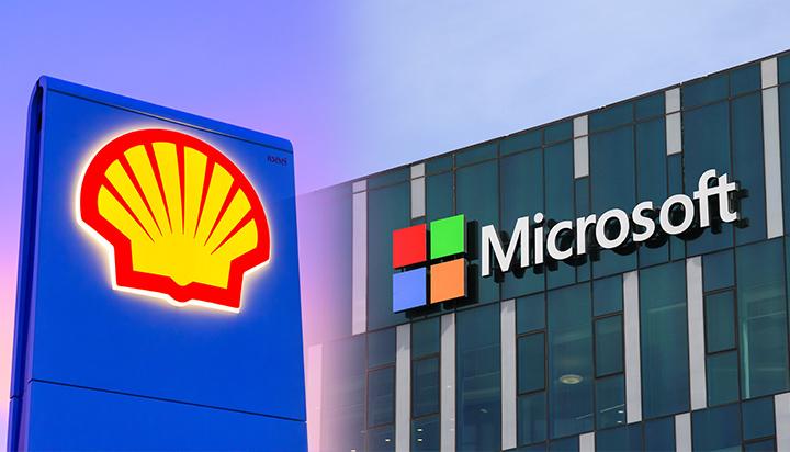Microsoft/Shell : Alliance de deux géants pour réduire l'empreinte carbone