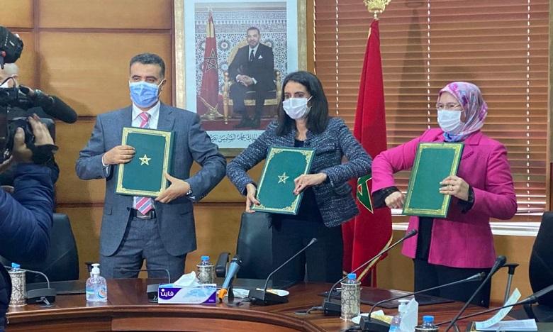 Maroc: Signature d'une convention sur la promotion de l'économie solidaire