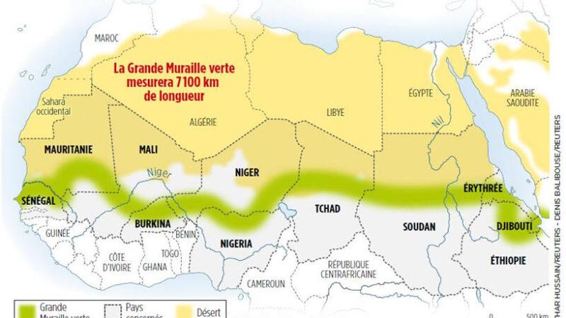 Sahel: 6,5 milliards $ pour la Grande muraille verte