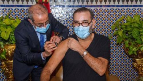 Maroc: Le Roi Mohammed VI reçoit la première dose du vaccin contre la Covid-19, lancement de la campagne nationale de vaccination