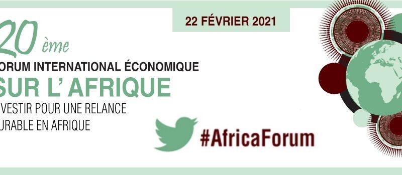 OCDE-Forum: Quelle stratégie pour une relance durable en Afrique?