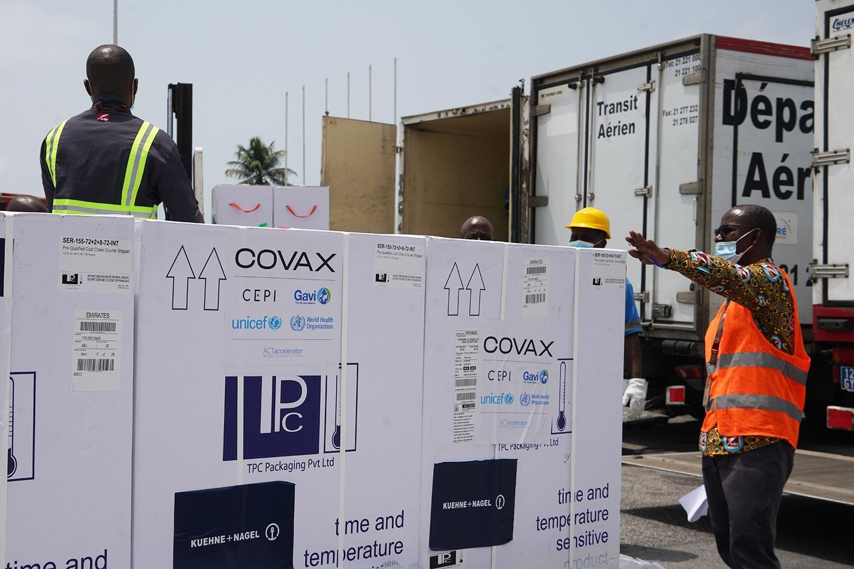 L'initiative Covax dans de sales draps