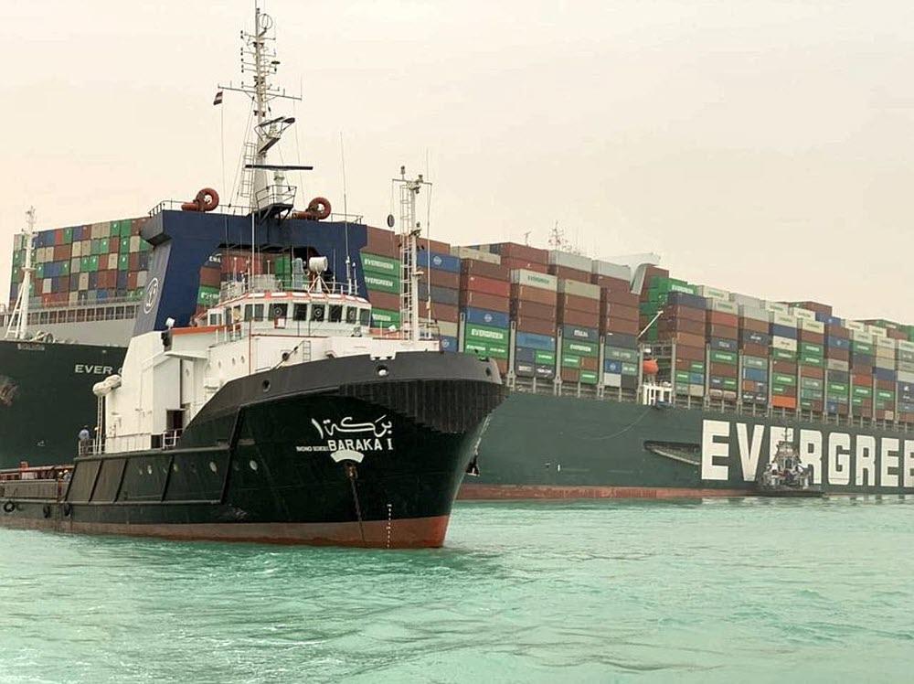 Le naufrage d'un porte-conteneurs dans le canal de Suez, une menace sérieuse pour le commerce mondial