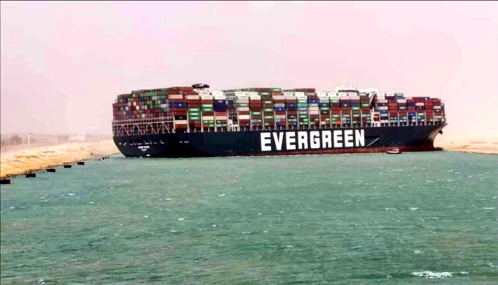 L'Autorité du Canal de Suez réclame un milliard de dollars à l'Ever Given