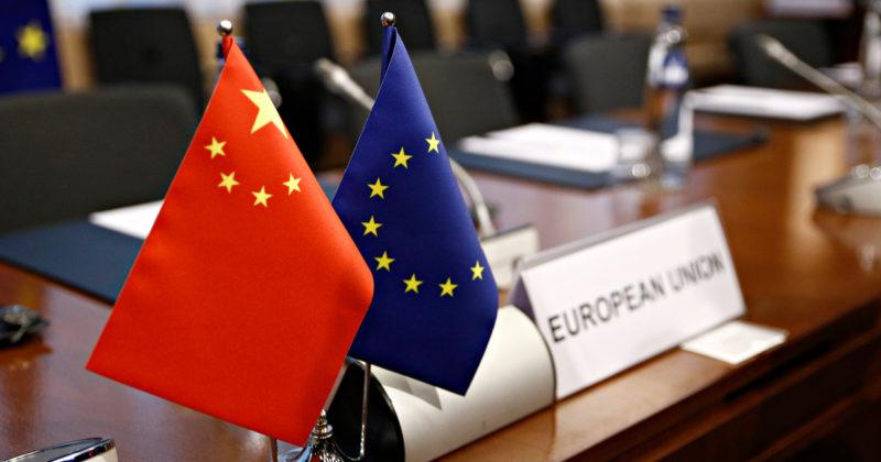 Gel de la ratification de l'Accord Global sur les investissements entre l'UE et la Chine