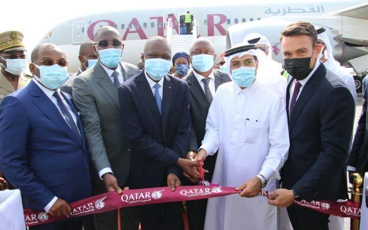 Aviation civile: La liaison aérienne Doha-Abidjan établie