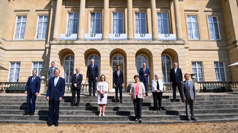 Taxe mondiale d'au moins 15% pour les grandes entreprises (G7)