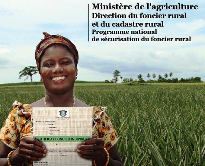 Mise en place en Côte d'Ivoire d'un Observatoire pour une meilleure gestion du foncier