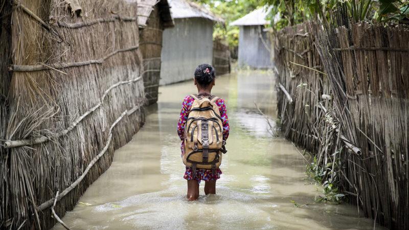 UNICEF: Un milliards d'enfants sous la menace de la crise climatique dans le monde