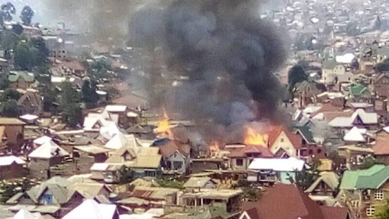 RDC : Un gigantesque incendie à Bukavu déclenche une vague d'indignation