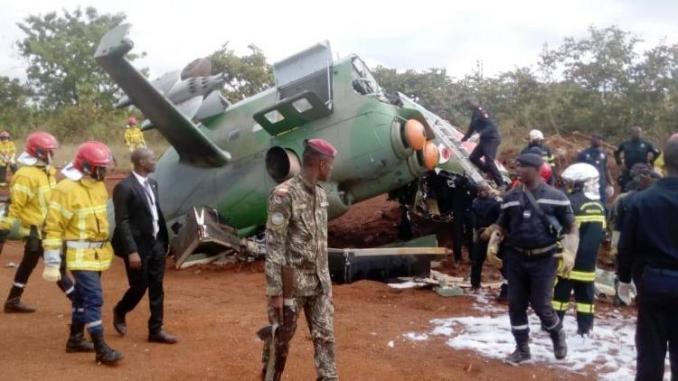 Côte d'Ivoire: Ouverture d'uneenquête sur le crash d'hélicoptère