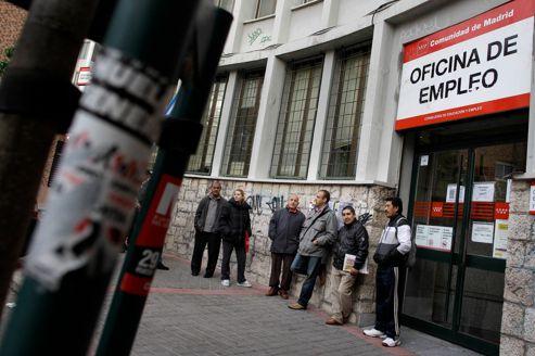Espagne : le quart de la population active est sans-emploi