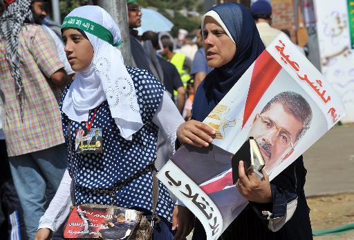 Egypte: Grande mobilisation  des pro-Morsi malgré les intimidations du gouvernement