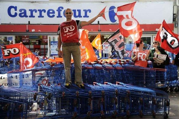 Carrefour se recentre sur le marché français