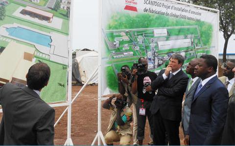 Togo : Pour pallier à la pénurie du ciment