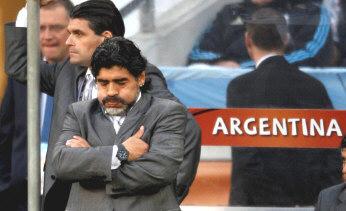 Mondial-2010/ Quarts de finales: La Nationalmannschaft dompte les hommes de Maradona