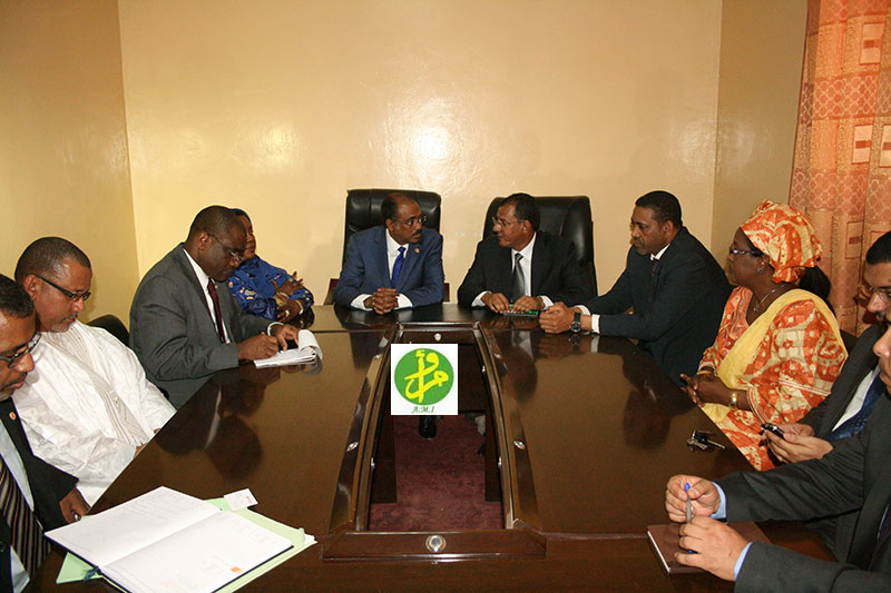 Mauritanie : Visite du directeur exécutif de l'ONUSIDA